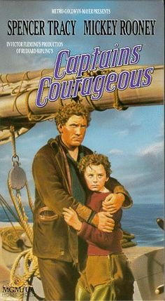 Weekend movies with my grandpa Jay. 😍 Captains Courageous // Directed by Victor Fleming Written by Rudyard Kipling (novel) Starring Freddie Bartholomew Spencer Tracy Studio Metro-Goldwyn-Mayer Distributed by Metro-Goldwyn-Mayer Release date(s) May 1937 Turner Classic Movies, Classic Films, Old Movie Posters, Film Posters, Adventure Film, Family Adventure, Old Movies, Great Movies, Awesome Movies