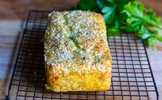 parsley-parmesan-bread-cool-on-rack-11-14-16  I'm going to try this with the baking blend