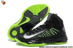 Sale Discount Black Gorge Green Men's Nike Lunar Hyperdunk 2013 Shoes Shop