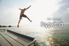 hypätä ~ to jump