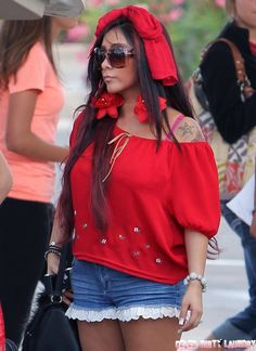 Report: Snooki's Back On the Booze!