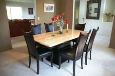 Granite Dining Room Tables - Celebrity plastic surgery photos before and after - http://quickhomedesign.com/granite-dining-room-tables/?Pinterest