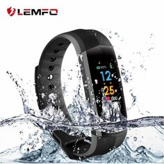 Fitness SmartWatch, frequenza cardiaca, conta calorie, contapassi, sms, telefono