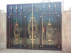 Grill Gate Design, Steel Gate Design, Iron Gate Design, House Gate Design, Fence Design, Door Design, Metal Gates, Wrought Iron Gates, Metal Garage Doors
