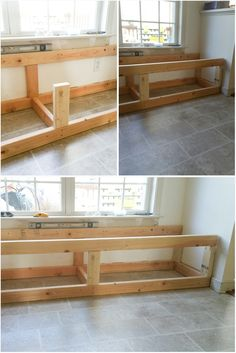 DIY BUILT-IN STORAGE BENCH TUTORIAL Today I am sharing the tutorial for the DIY built-in storage bench. Well, my friends. Time flies like crazy, and we are on the week of the One Room Challenge hosted by Linda over at Calling it Home. Storage Bench Seating, Diy Bench Seat, Kitchen Storage Bench, Built In Seating, Built In Bench, Kitchen Benches, Built In Storage, Diy Bench With Storage, Diy Storage Seat
