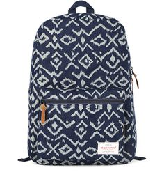 Eshops Vintage Travel Fashion Casual School Girls Backpacks for Women Cute College Book Bag Back Pack (Deep Blue)
