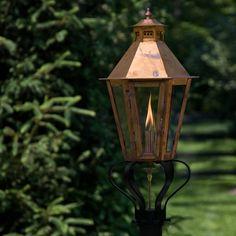 how to clean naptha gas lantern
