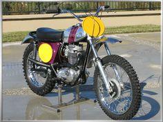 British Motorcycles, Vintage Motorcycles, Custom Motorcycles, Custom Bikes, Motocross Racer, Motorcross Bike, Bsa Motorcycle, Vintage Motocross, Old Bikes