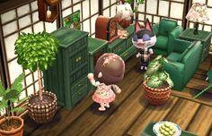 ACNL Green set room ideas