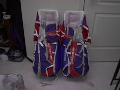 Mike Richter pads 98-99