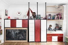 Small spaces often mean you have to sacrifice some of the things you would like to include. But, with a little bit of inspiration, it can be easy to turn them into cosy, stylish and functional spaces for your kids. AMAZING Kids rooms on today's post