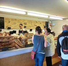 Kakor, bröd och bakverk på Baluard i Barcelona. Barcelona, Barcelona Spain