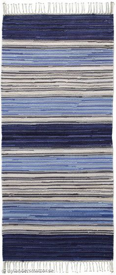 Trasmatta Björkö Rag Rugs, Bias Tape, Rug Hooking, Woven Rug, Bellisima, Carpets, Crocheting, Hand Weaving, Textiles