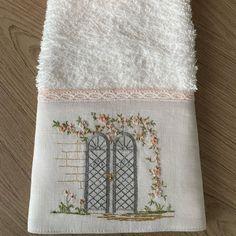 Towel, Instagram, Embroidered Towels, Good Morning Girls, Doors, Feelings, Bath