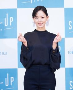 Drama Korea, Korean Beauty, Girl Photos, High Neck Dress, Turtle Neck, Actresses, Sweaters, Instagram, Artists