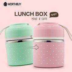 Portable Cute Lunch Box