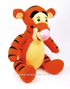 Cuddle Tigger - Knitted Toy Kit