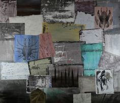 Fabrizio Falchi - Foliage - Painting - Contemporary Art Mixed Media Painting, Contemporary Paintings