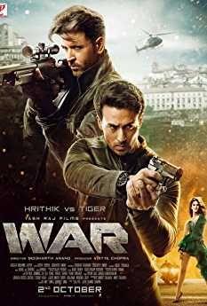 Hrithik Roshan Vaani Kapoor And Tiger Shroff In War 2019 In