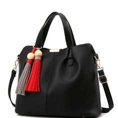 DTL free shipping women handbags designer women s messenger bags tassel  luxury tote shoulder bag high quality cd3d2d070ea53