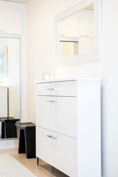 Entry Hallway, Entryway, Studio Living, Small Apartments, Hallways, Filing Cabinet, Interior Design, Storage, House