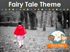 Fairy Tale Ideas, Activities, and Printables for Preschool and Kindergarten