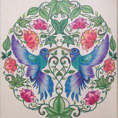 Jardin Secreto, Inspiración // Secret Garden Book, Inspiration // Jardim…