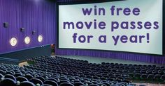 Win Free Movie Passes For a Year