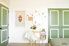Before and After: A Beautiful Boho Bedroom Makeover » Curbly   DIY Design Community