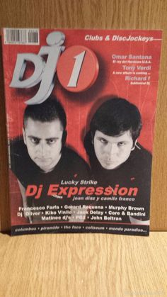 REVISTA DJ 1 - Nº 38. DJ EXPRESSION. JOAN DIAZ Y CAMILO FRANCO / CLUBS & DISCJOCKEYS.