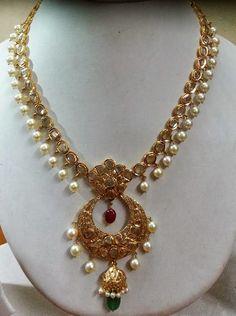 uncut diaomnd necklace