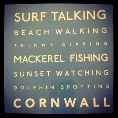 Cornwall! This sums it up! Take time to visit. They need you now!