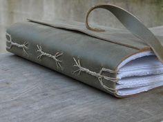 Spine Braid wrap-around journal by Rhonda Miller