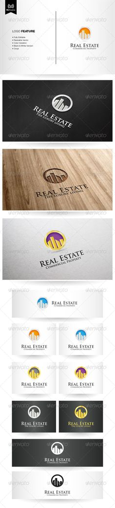 Commercial Real Estate Logo #GraphicRiver The logo is vector format so you can re-sized without losing the quality. Included in the download • Ai File (cs3 or later) • EPS10 • Info Text Free fonts used in the design: • Trajan Pro For any modification and editing assistance, please contact me and I'll be happy to help. Created: 20August13 GraphicsFilesIncluded: JPGImage #VectorEPS #AIIllustrator Layered: No MinimumAdobeCSVersion: CS3 Resolution: Resizable Tags: Warmlogo #building #circular…