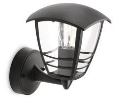 Philips – Luminaire Extérieur – Lanterne Murale montante Creek Noire 1x60W 230V: Garantie :2 an(s) Puissance :60 watts Matière :Aluminium…