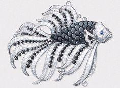 Vendôme 29 - High Jewellery: Black Sea - Van Cleef & Arpels Seven Seas