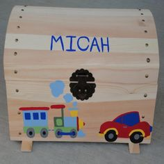Toy Trunk, Toy Chest, Storage Chest, Trunks, Organization, Car, Handmade Gifts, Etsy, Home Decor