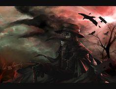 Plague doctor: The black death comes by lockinloadeadly.deviantart.com on @DeviantArt