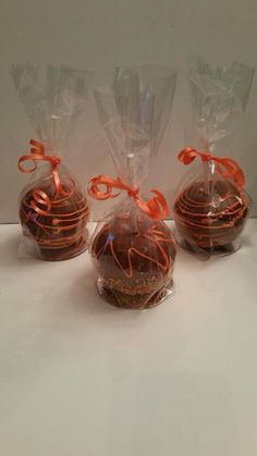 And chocolate apples