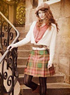 Kilted Skirt Mini Length