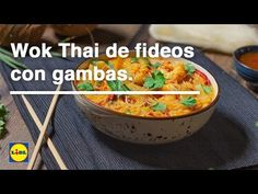 Wok, Mashed Potatoes, Chili, Curry, Ethnic Recipes, Youtube, Home, Rice Noodles, Asian Recipes