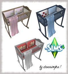 Cot by dorosimfan1 at Sims Marktplatz via Sims 4 Updates