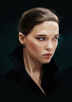 New celebrity portraits by Russian artist Viktor Miller-Gausa (previously).  More illustrations via Behance