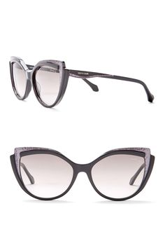 9e31c8bc1e Image of Roberto Cavalli Women s 56mm Oversized Injected Sunglasses Roberto  Cavalli