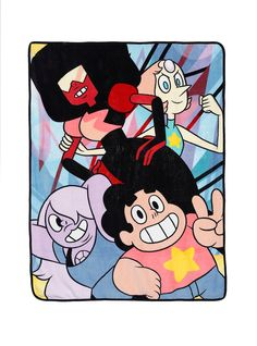 http://www.hottopic.com/product/steven-universe-crystal-gems-throw/10510674.html