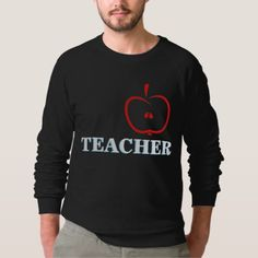 Apple Fruit on Men's Raglan Sweatshirt