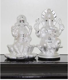 Lakshmi & Ganesha silver collections