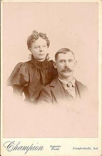 Allison Cook Trowbridge  son of John Calvin and Phoebe (Cook) Trowbridge  md. December 6, 1893 in Rush Co., Indiana  Laura Coralinn Delashmit  daughter of William P. and Adeline M. (Trevillion) Delashmit