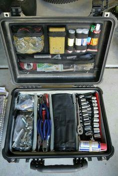 Essentials to keep in the truck (packed)