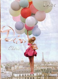 Miss Dior Cherie - my favorite perfume, and I just LOVE this ad! my favorite duty free purchase.